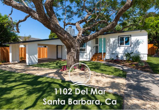 1102 DEL MAR Santa Barbara, Ca