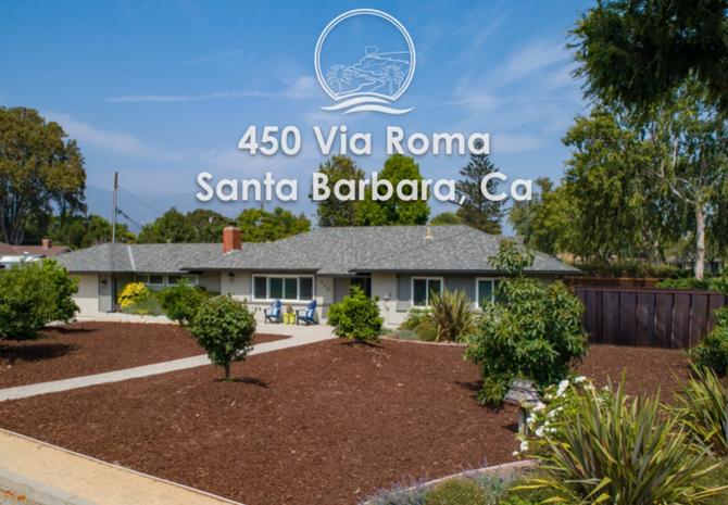 450 Via Roma Santa Barbara, Ca
